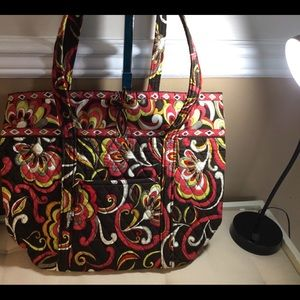 Vera Bradley Shoulder Bag n Browns&Reds